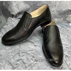 Кожаные туфли для кадет Бутекс