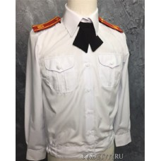 Блузка кадетская белого цвета парадная