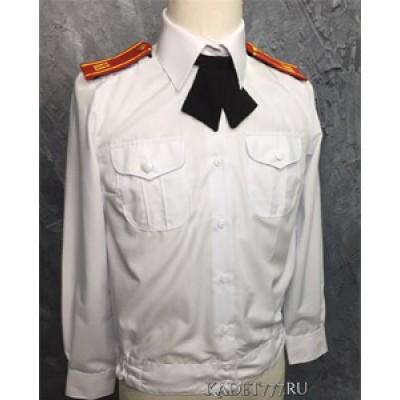 Рубашка форменная для женщин белого цвета