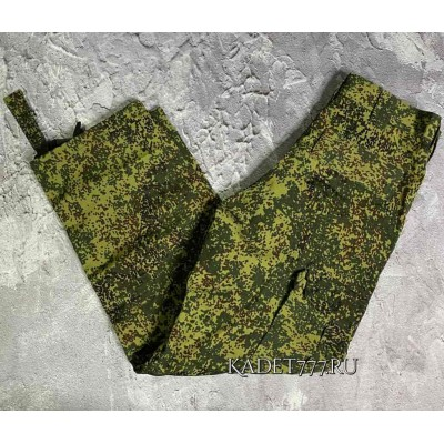 Кадетские брюки ВКБО цифра из ткани РИП-СТОП