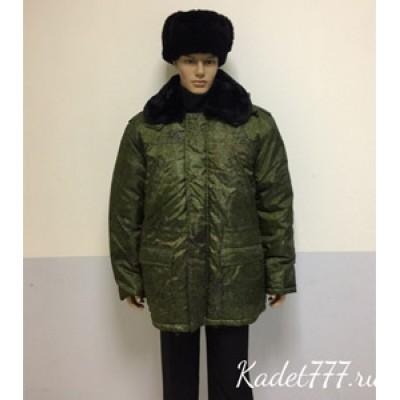 Куртка зимняя цифра (с подстежкой)