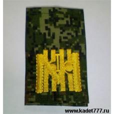 Первый московский кадетский корпус. Фальш погоны цифра, вышивка