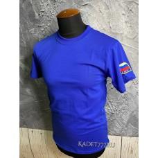 МЧСная футболка синего цвета для кадет