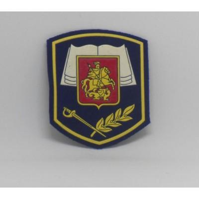 Кадетское образование Москвы шеврон резиновый