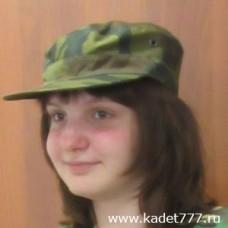 Камуфляжная кепка цвета флора с 54 по 60 размеры для кадет
