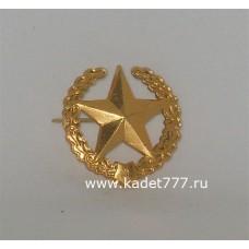 Петлицы и эмблемы сухопутных войск золотых, металлических