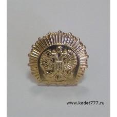 Петлицы и эмблемы кадетские золотые металлические