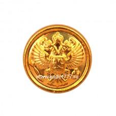 Пуговица с орлом (золото)