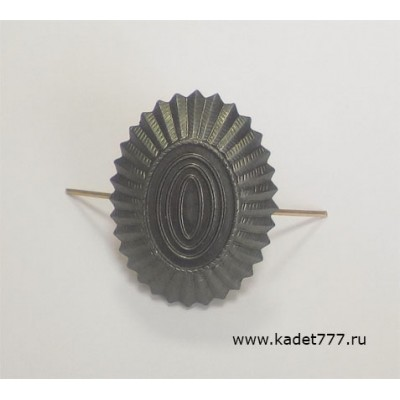 Кокарда полевая нового образца ВС РФ металлическая