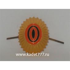 Кокарда золотая ВС РФ нового образца для кадет