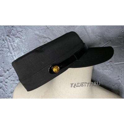 Кадетская кепка РИП СТОП черного цвета для ФСО