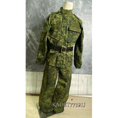 Кадетский костюм расцветки цифра ВКБО