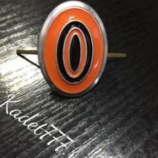 Кокарда казаков рядового состава металлическая