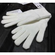 Перчатки белые зимние для кадет