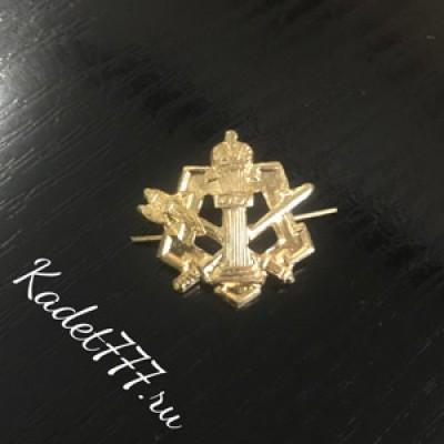 Петлицы и эмблемы золотые ФСИН металлические