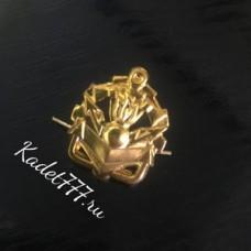 Петлицы и эмблемы золотые Инженерных войск