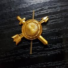 Золотые петлицы и эмблемы РВСН металлические
