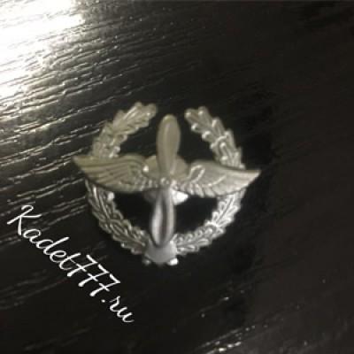 Петлицы и эмблемы ВВС с венком расцветки КМФ, металл