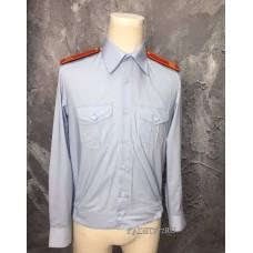 Рубашка кадетская голубого цвета
