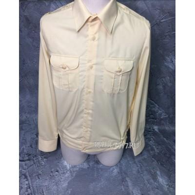 Кадетская рубашка кремовая. 30-44 размер