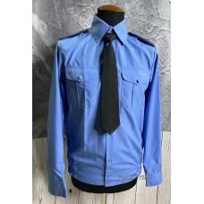 Рубашка для кадет синего цвета для ежедневной носки