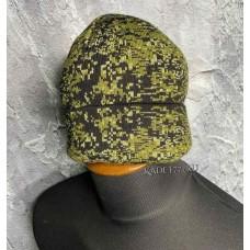 Зимняя вязаная шапка для зимы расцветки цифра