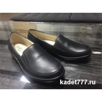 Кадетские женские туфли, кожаные