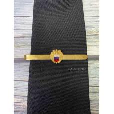 Зажим для кадетского мужского галстука ФСО